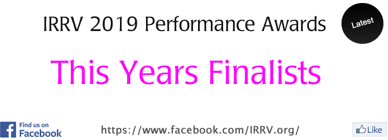 IRRV Performance Awards 2019 Finalists